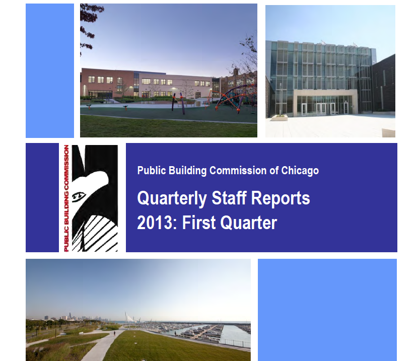 2013 First Quarter Staff Report